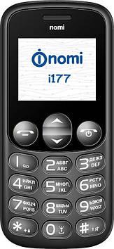 Мобiльний телефон Nomi i177 Metal Grey