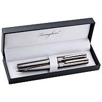 Элегантный набор для письма из роллера и ручки с поворотным механизмом Ferraghini, фото 1