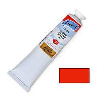 Фарба олійна ЛАДОГА №302 кадмій червоний світлий (імітація), туба 120мл ( 4607010580582)