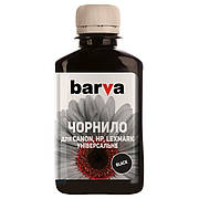 Чернила BARVA CANON/HP/Lexmark Universal №4 BLACK 180г (CU4-475)