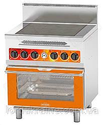 Плита электрическая промышленная с духовкой CES-4-O(G) ТМ OREST