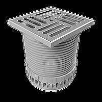 Надставной элемент для балконов и террас TOPWET TW TER с защитной решеткой 100 мм