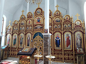 Іконостас (5 х 7,2м)