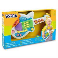 Музыкальная игрушка Гитара Weina 2099, фото 1