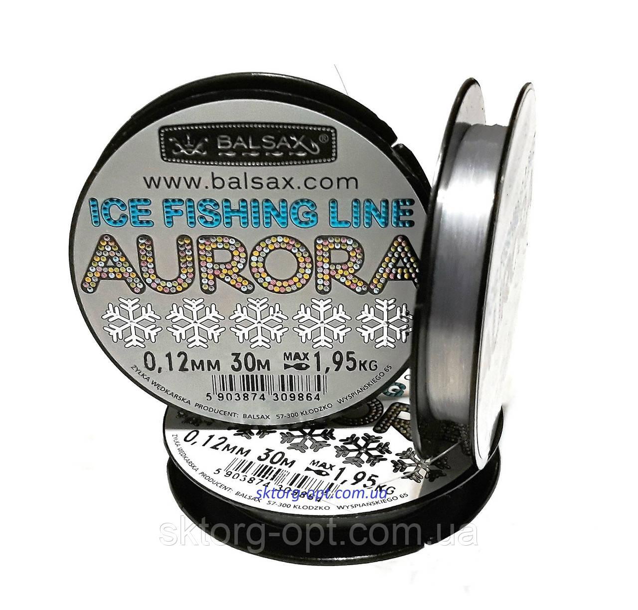 Леска Balsax Aurora Ice 0.10 mm 30 m