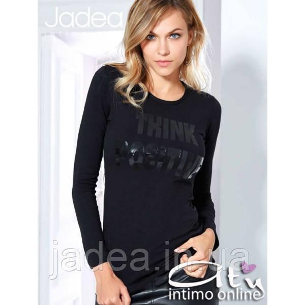 31b58f046045a Стильная классная Женская футболка с длинным рукавом Jadea 4880 ...
