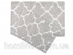 Набор ковриков Irya Bali gri серый 50*80+45*60