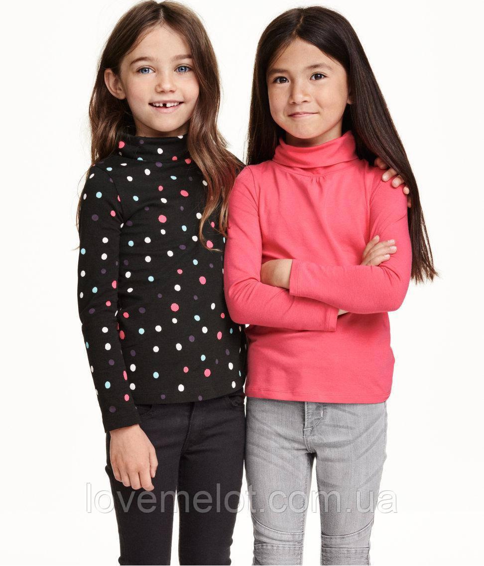 """Детский гольф в наборе 2 пары гольфов органик H&M """"Сесилия"""", размер 92 см для девочки"""