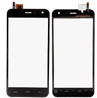 Сенсор (тачскрин) для Homtom HT3/HT3 Pro/Ergo A500 Best Dual Sim черный