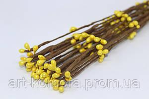 Вербовая веточка желтая, длина 40 см