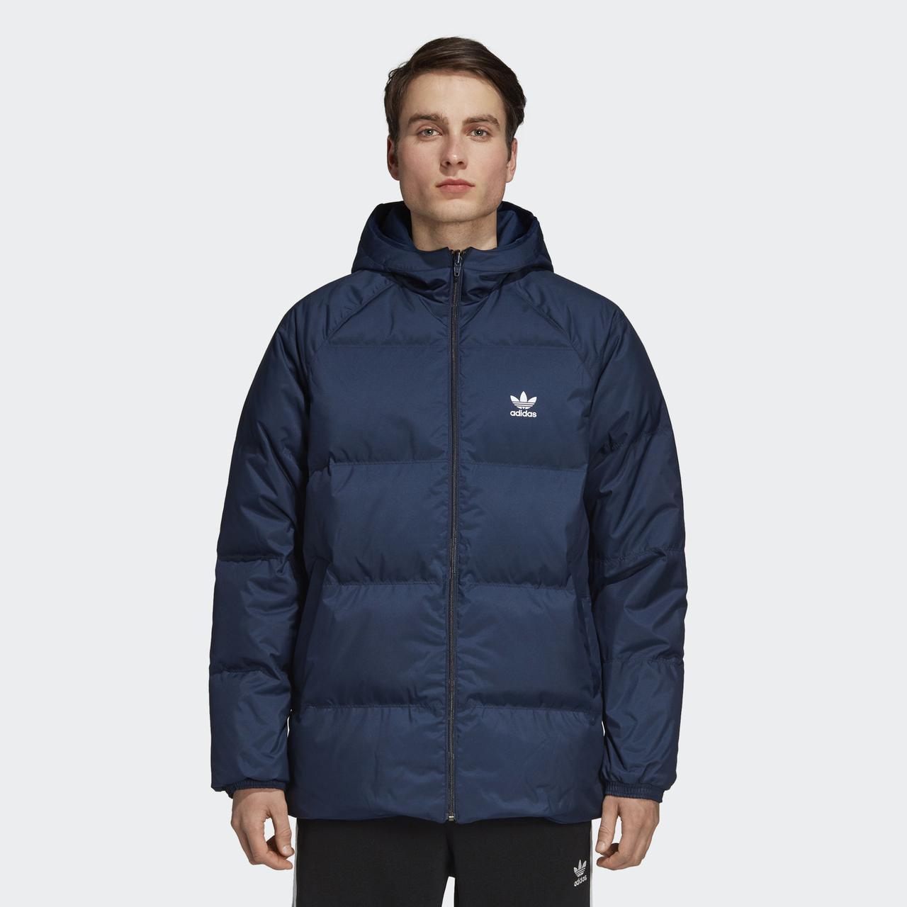 a97f5b9218f3 Мужская куртка Adidas Originals SST (Артикул  DH5004) - Адидас официальный  интернет - магазин