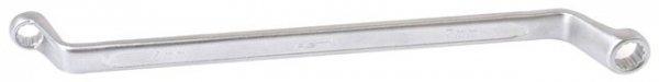 Ключ накидной изогнутый 16х17мм ASTA 700-71617