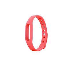 Браслет сменный ремешок для часов Xiaomi Mi Band 2, розовый