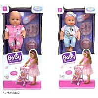 Кукла-пупс интерактивный с коляской, аксес.спак.кор.59*16*28