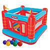 Детский надувной батут Bestway 93504-1 «Крепость», 175 х 173 х 135 см, с шариками 30 шт
