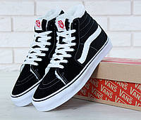 Мужские зимние кеды Vans Old Skool SK8 Hi x Winter x Black White