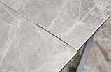 Стіл LINCOLN 160/240 см кераміка світло-сірий глянець (безкоштовна доставка), фото 3