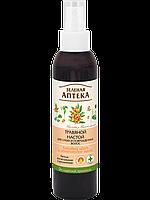 Травяной настой для сухих и поврежденных волос «Липовый цвет и облепиховое масло» и Зеленая Аптека 150мл