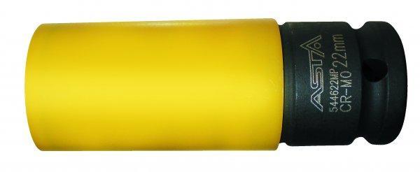 Спец головка ударная Cr-Mo, 1/2 длинная 22мм, L=85мм (алюм.дисков) ASTA 544622MP