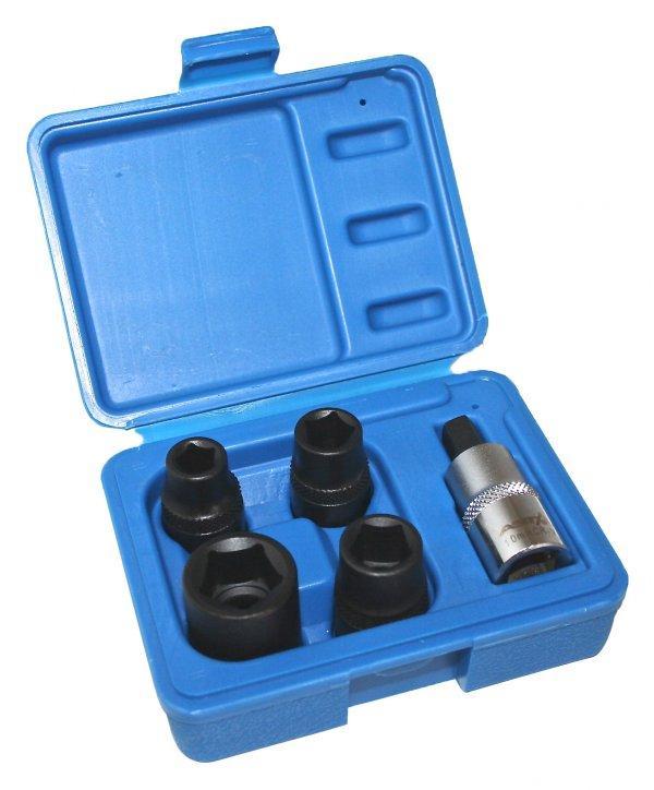 Набор спец. головок для тормозных зажимов 5ед. ASTA A-12003UPG
