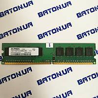 Оперативная память Elpida DDR2 1Gb 667MHz PC2 5300U CL5 (EBE10UE8ACWA-6E-E) Б/У, фото 1
