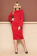 Сукня жіноча ошатне міді в 3х кольорах L-143