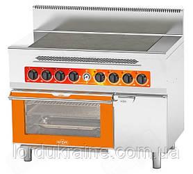 Плита электрическая промышленная с духовкой CES(с)-6-O(G) HD ТМ OREST