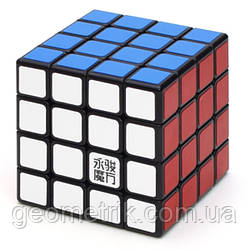 Кубик Рубіка 4x4x4 MoYu YJ GuanSu (Чорний)