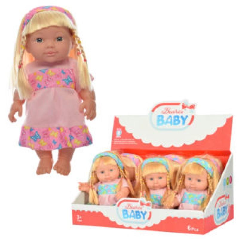 Кукла, звук, 2 цвета, QH6008-12