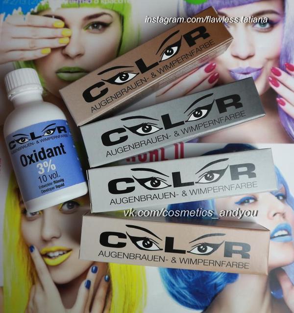 COLOR-фарба для брів і вій