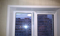Монтаж F профиля и откосы на Ваши окна готовы. Ориентировочное время работы на одну конструкцию составляет 1,5 - 2 часа