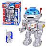 Робот 28072 радіокер., стріляє дисками, муз., світло, бат., кор., 31,5-22-16 див.