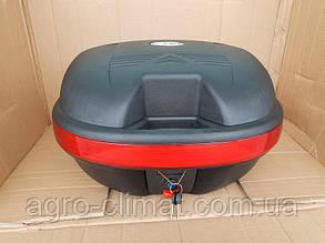 Кофр для мотоцикла багажник TVR на один шолом (30 л)