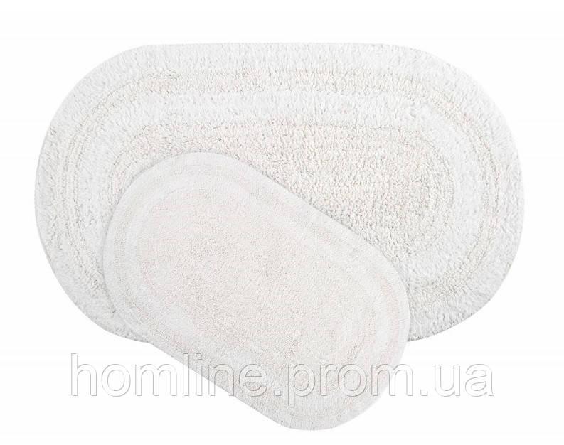 Набор ковриков Irya Havana beyaz белый 50*80+45*60