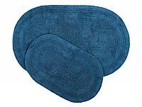 Набор ковриков Irya Havana civit mavi голубой 50*80+45*60