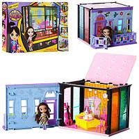Домик Метр + 5002-03-04 с аксессуарами для кукол высотой 11 см