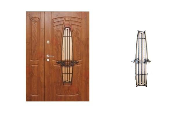 Широкие двери входные Елит_2028