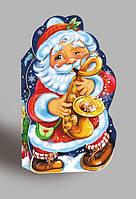 """Подарочная новогодняя упаковка """"Дед Мороз""""., цена за уп. в уп. 10шт.,10*19*7*5см.,на вес 600г.(736)"""