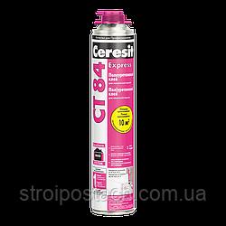 Клей полиуретановый для приклеивания ППС плит Церезит (Ceresit) СТ 84 Express, 850 мл