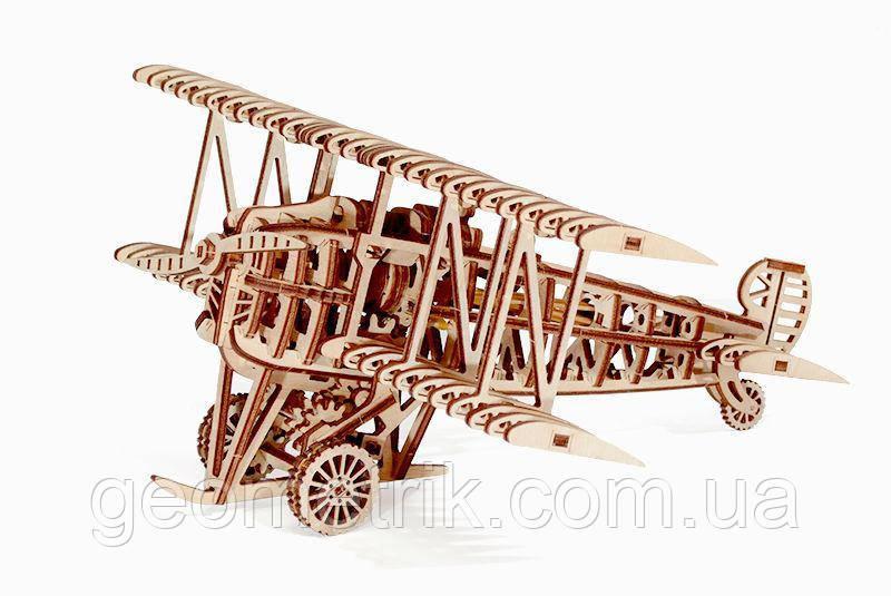 "WT механічний 3D пазл Літак (""кукурузник"") (148 деталей)"