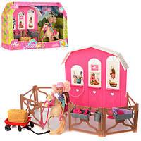 Лялька K899-55 кінь, стайня, аксесуари, кор., 50-32,5-10 см.