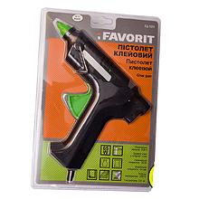 Клейовий пістолет FAVORIT електричний 11мм 40Вт для термоклея