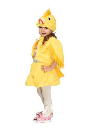 Костюм Цыпленка для девочки Рост 104-122 см, фото 2