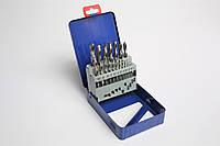 Набор сверл по металлу Р6М5 1,0-10,0мм MIOL 22-095