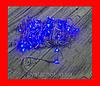 Новогодняя гирлянда Нить LED 200 голубая