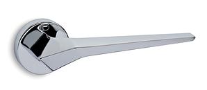 Дверные ручки CONVEX 2405 CH (круглая розетка) полированный хром