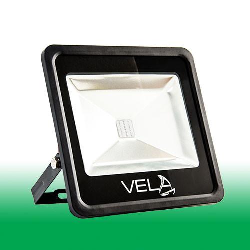 Светодиодный прожектор LED 30Вт 515-530nm (зеленый), IP65