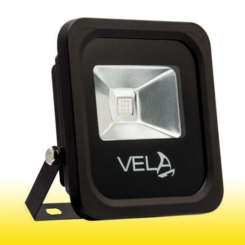 Светодиодный прожектор LED 10Вт 560-600nm (желтый), IP65
