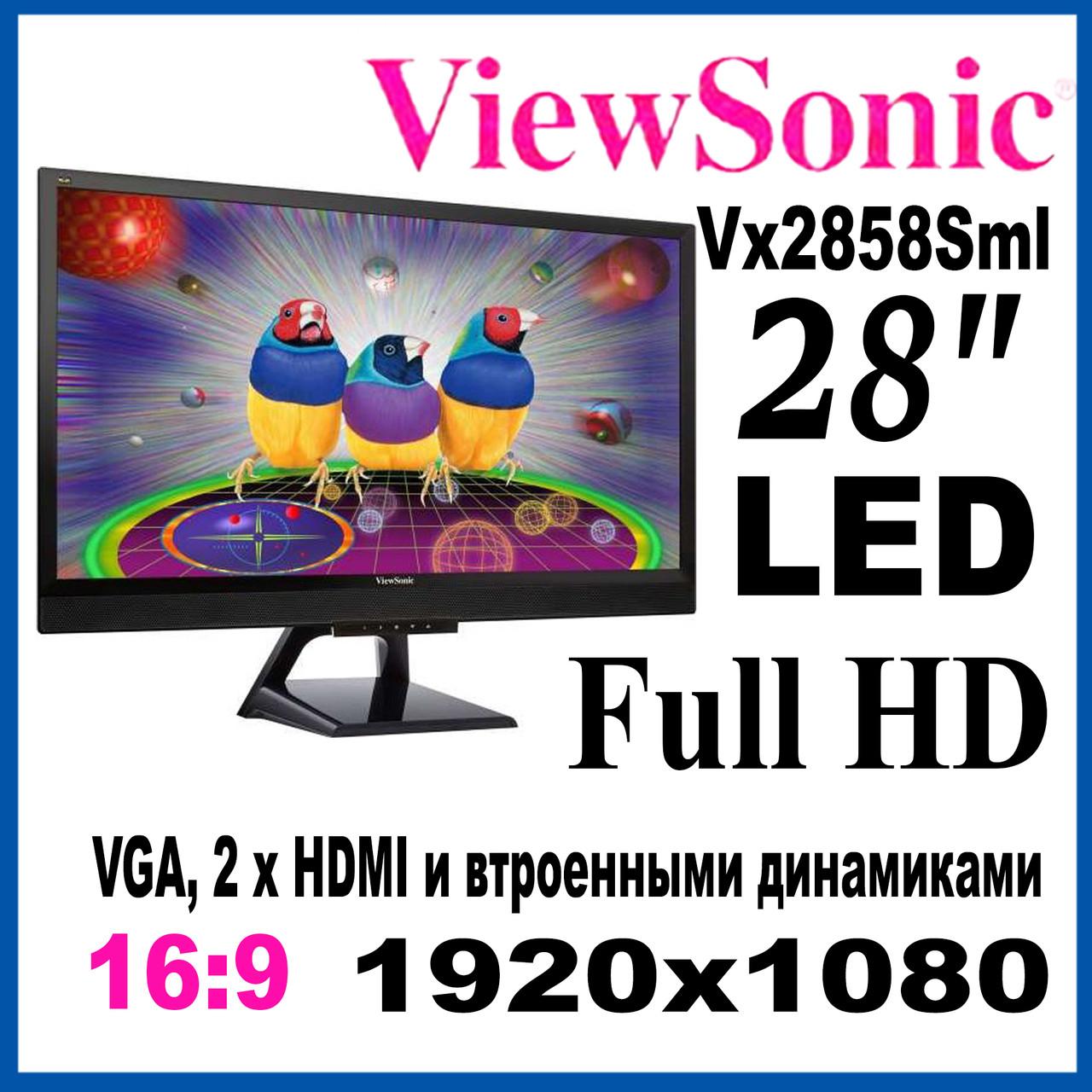 28 Viewsonic Vx2858sml 1920x1080 Lcd 1920x10803871
