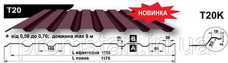 Кровельный профнастил Т-20, Николаев, Херсон, фото 2
